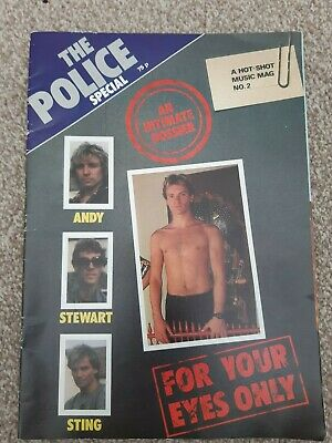 The Police Special - For Your Eyes Only Mag No 2 • 12£