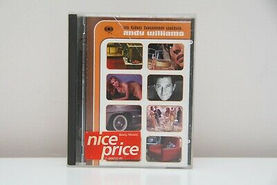 ANDY WILLIAMS In The Lounge With. Minidisc MD Pre Recorded Original Album • 24.99£