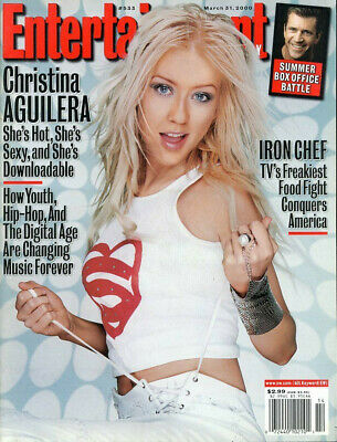 Christina Aguilera 2000 Entertainment Weekly #a2592 • 11.91£