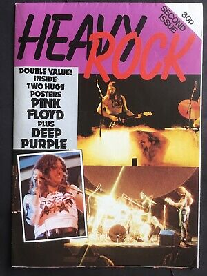 Pink Floyd Deep Purple Double Poster From The Seventies. Free Postage. • 4.99£