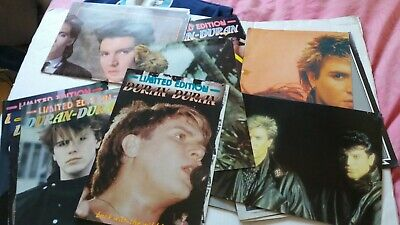 DURAN DURAN - Vintage Pop Gallery Magazine Incomplete Issues & Some Posters • 4.99£