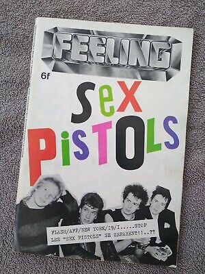 Rare French Feeling Magazine No 2 -  Sex Pistols, Siouxsie. Slits, Punk + More • 20£