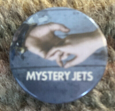 Mystery Jets Promotional Badge • 2.29£