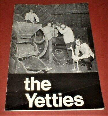 THE YETTIES  1975 Official Souvenir Concert Programme Brochure Yetminster Dorset • 4.99£