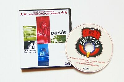 OASIS: MTV UNPLUGGED 1996 : THE COMPLETE VERSION Live DVD • 6.10£