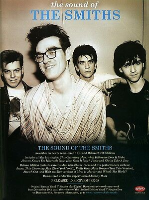 The Smiths THE SOUND OF 16  X 12  Photo Repro Promo  Poster • 5.50£