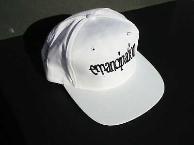 PRINCE CAP Emancipation 1996 USA White Blk Gold Symbol NPG Records Official MINT • 250£