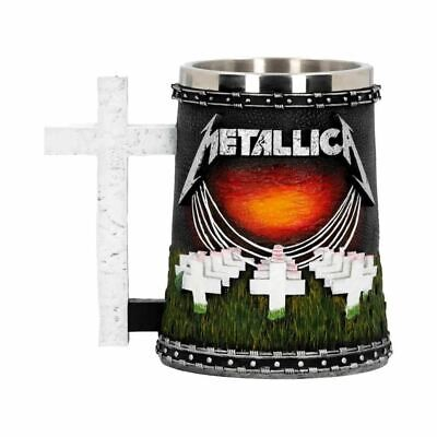 Metallica Master Of Puppets Collectable Tankard Stein - Boxed Nemesis Now • 39.99£