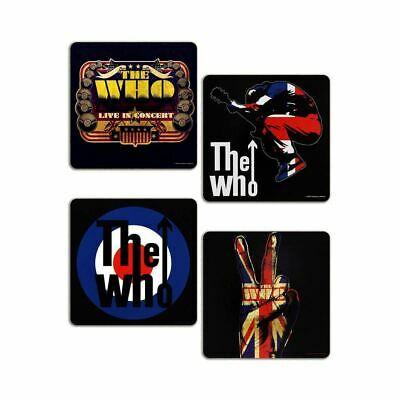 The Who MOD Target Drinking Coasters 4 Set - Boxed Music Lovers Gift  • 6.95£