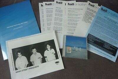MANIC STREET PREACHERS - This Is My Truth Set Full UK Promo Kit With CD • 0.99£