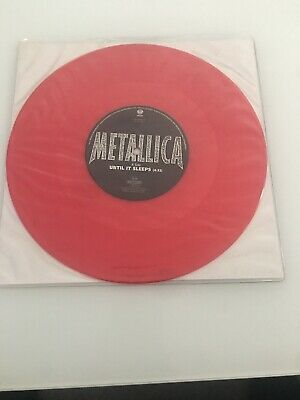 Metallica - Until It Sleeps (mint) Limited Edition Red 10  • 17.85£