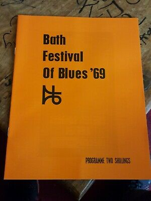Music Programme From Bath Festival 1969 Reprint See Pics  • 12.99£