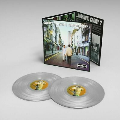 Oasis What's The Story Morning Glory Sealed 25th Anniv SILVER COLOURED Vinyl LP  • 27.95£
