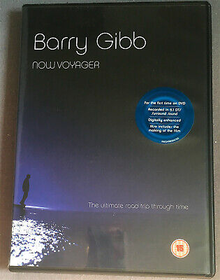 Bee Gees Barry Gibb  Now Voyager Dvd 9 Song Tracks  Michael Hordern • 29.99£
