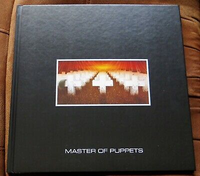 Metallica - Master Of Puppets - HARDBACK BOOK From Deluxe Box Set • 19.99£