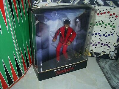 RARE MICHAEL JACKSON  Boxed Thriller 10  Figure Doll JACKO No 13458. FREE P & P • 36.99£