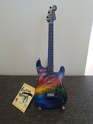 Guitar Mania Backstage Pass Ornament Fender Stratocaster Collectors Item • 15£