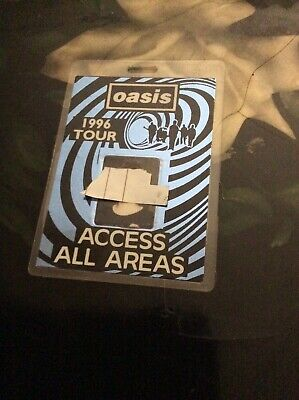 Oasis - What's The Story Morning Glory - UK Summer Leg 1996 AAA Tour Pass Rare! • 49.99£