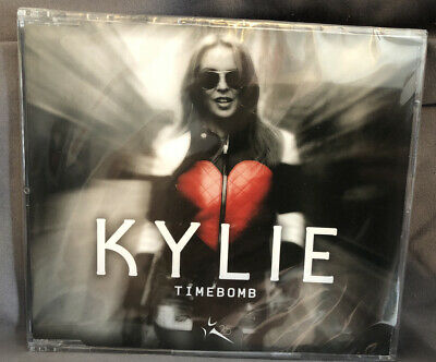 Kylie Minogue - Timebomb 2012 Eu Enhanced Cd Single Cdr6874 Factory Sealed K25 • 50£
