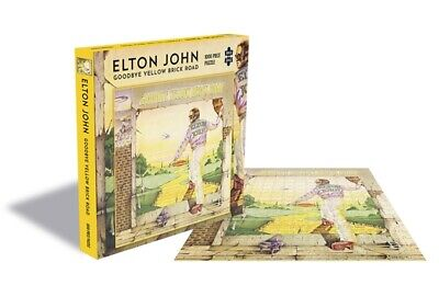Elton John Jigsaw Puzzle Goodbye Yellow Brick Road Sealed Official 1000 Piece  • 19.95£