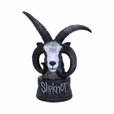Slipknot Flaming Goat Bust Figurine - Boxed Collectors Rock Merch • 29.99£