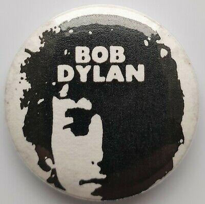 Bob Dylan Vintage Button Badge Folk Blues Rock Activist Pin • 5.99£