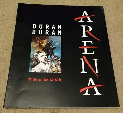 DURAN DURAN - ARENA The Book - Official 1985 UK Tour Book - 48 Colour Pages • 19.95£