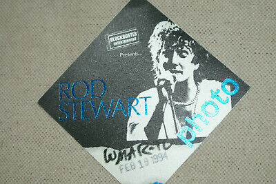 Rod Stewart  **  Satin Cloth  Backstage Pass  **  World Tour 1994    Authentic • 4£