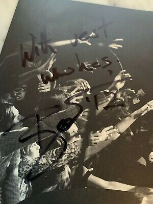 David Bowie Signed Best Wishes  David Live At Tower Philadelphia  1990 CD Ryko • 181.50£