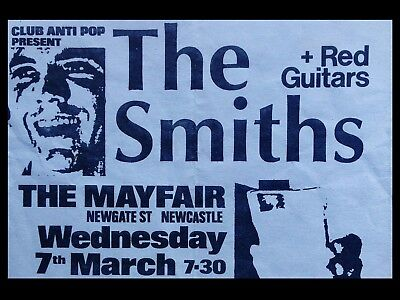 The Smiths Newcastle 16  X 12  Photo Repro Promo Poster • 5.50£