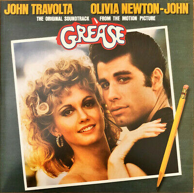Various ‎– Grease OST [12'' VINYL LP] LIKE NEW • 12.99£