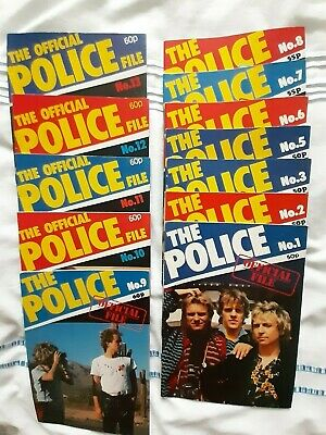 Sting & The Police Official File X 12 • 40£