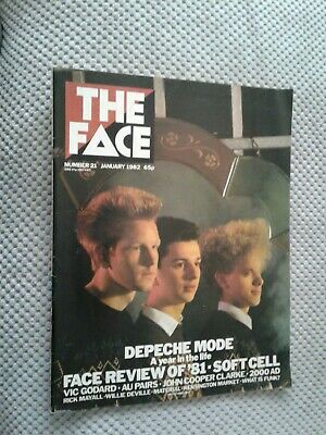 The Face Magazine Jan 1982 - Depeche Mode Cover + Feature  • 1.99£
