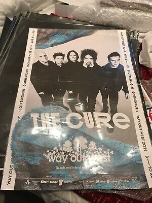 The Cure Concert Poster Stockholm Sweden 2019 Double Sided Street Advertising • 19£