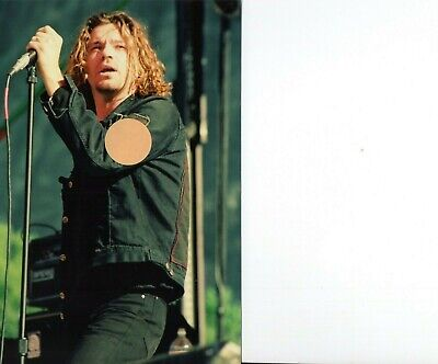 Inxs Michael Hutchence 10 - 4x6 Color Concert Photo Set #74a • 7.15£