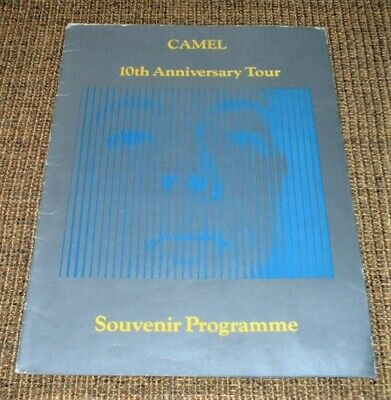 Official Concert Programme - CAMEL 10th Anniversary Tour 1982 • 6.99£