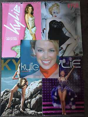 Kylie Minogue Calendars X 5 • 19.99£