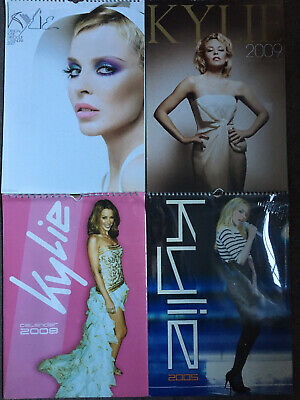 Kylie Minogue Calendars X 4 • 19.99£