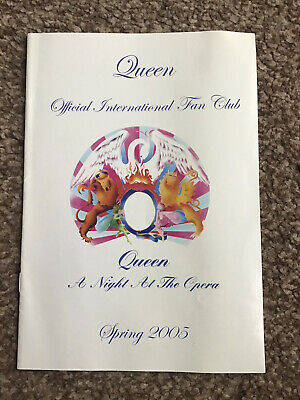 Queen International Fan Club Magazine Spring 2005 Mercury May Taylor Deacon • 2.99£
