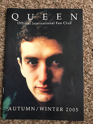 Queen International Fan Club Magazine Autumn/Winter 2005 Mercury May Taylor • 2.99£