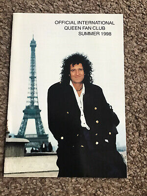 Queen International Fan Club Magazine Summer 1998 Mercury May Taylor Deacon • 2.99£