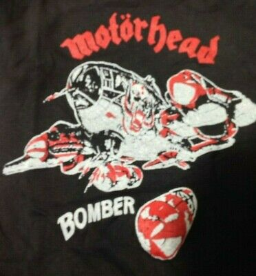 Motorhead Bomber Vintage 1970s CONCERT T SHIRT Single Stitch UNWORN Small S • 14.49£