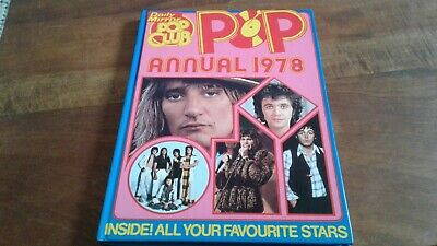 Daily Mirror Pop Club Annual 1978 Fts Abba Who Queen Bowie Etc • 2.49£