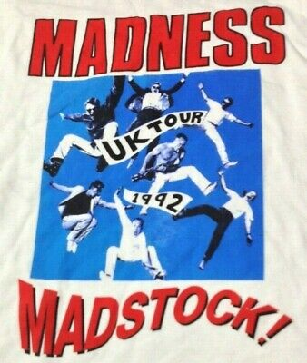 Madness Madstock Two Tone 2 Tone Vintage 90s LS T SHIRT UNWORN Single Stitch XL  • 4.99£
