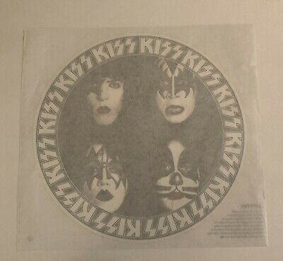 KISS Vintage Dynasty Iron On Transfer  Ace Frehley Peter Criss Ex Cond • 7.36£