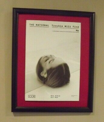 The National-Trouble Will Find Me Original UK Press Advert 2013 • 4.99£