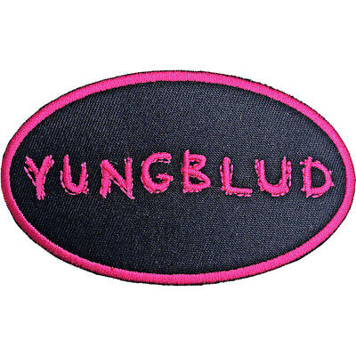 YUNGBLUD Oval Logo : Woven IRON-ON PATCH 100% Official Licensed Merch • 4.08£