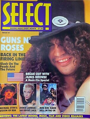 Guns N' Roses - Select Magazine - February 1991 & Other - Photos And Articles • 6£