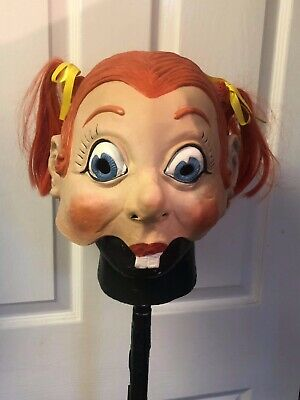 Slipknot Oddball Mask ,a Variation  Of Don Post Girl With Pigtails  • 40£