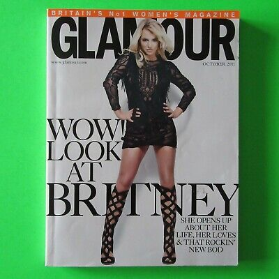 BRITNEY SPEARS - Glamour - RARE UK Magazine (Small Edition) (OCT 2011) • 15£